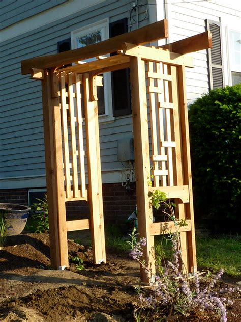 diy trellis arbor diy arbor trellis the owner builder network