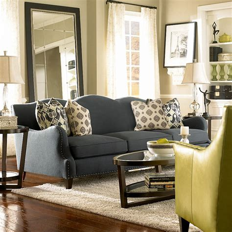Living Room With Lime Green Sofa Enchanting Picture Of Modern Yellow And Grey Living Room