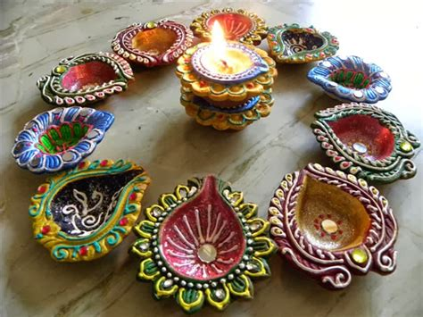 beautiful diya decoration idea simple diya decoration