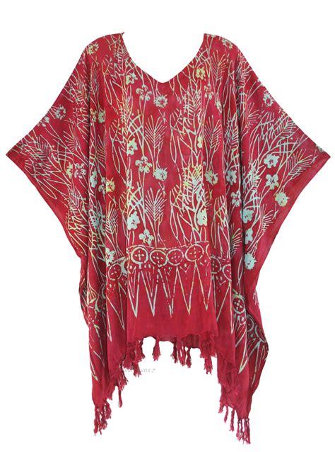 Seven Batik Top batik caftan kaftan tunic top blouse plus size 1x 2x 3x 4x 22 24 ebay