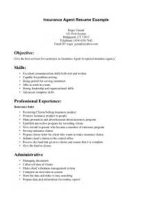 insurance resume student resume template