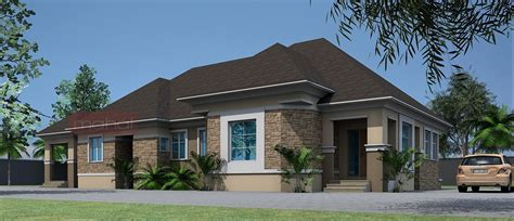 four bedroom bungalow design contemporary nigerian residential architecture 4 bedroom