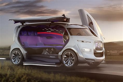 concept van citroen expresses its love for vans with tubik concept