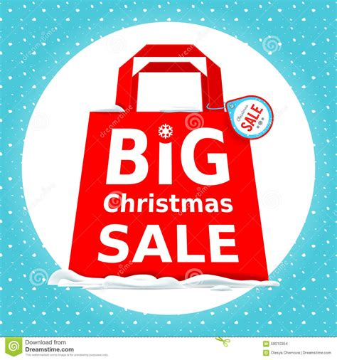 vector great christmas sale holiday sale with stock
