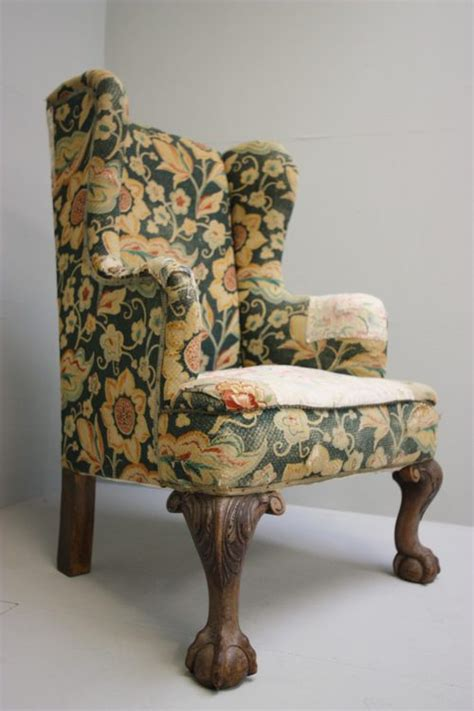 antique wing chair wonderful english antique wing chair antiques atlas