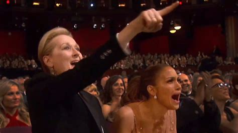 Jlos In Hollyscoop by Oscars 2015 Meryl Streep Go Nuts For