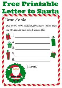 letter to santa template printable letter to santa free printable events to celebrate