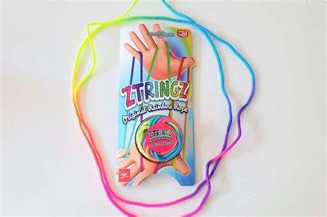speelgoed trends 2018 ztringz regenboog touw voorbeelden touwfiguren om te