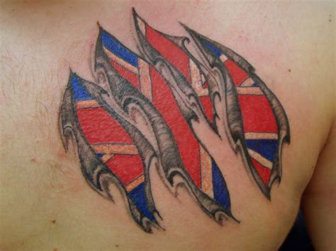 british flag tattoo designs union flag tattoos union flag