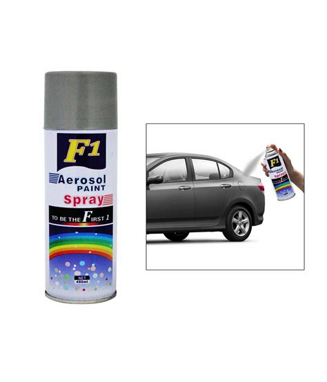 spray paint car f1 car touchup spray paint 450ml silver chevrolet sail
