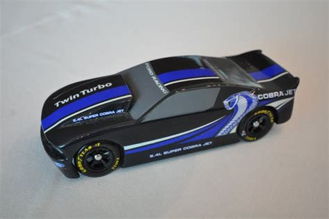 Design Your Own 2 Story Home pinewood derby car mustang style racer car body only