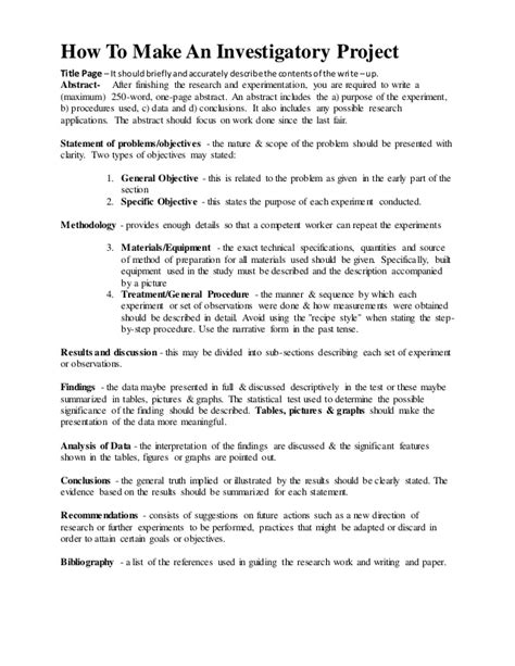 science project research paper sle science investigatory project research paper exle 28