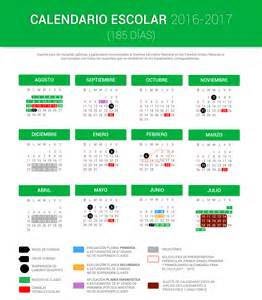 Calendario Escolar 2017 18 Mexico Calendario Escolar 2016 2017 185 D 237 As Portalsej