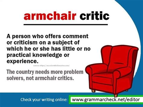 armchair critic 444 best english grammar posts images on pinterest