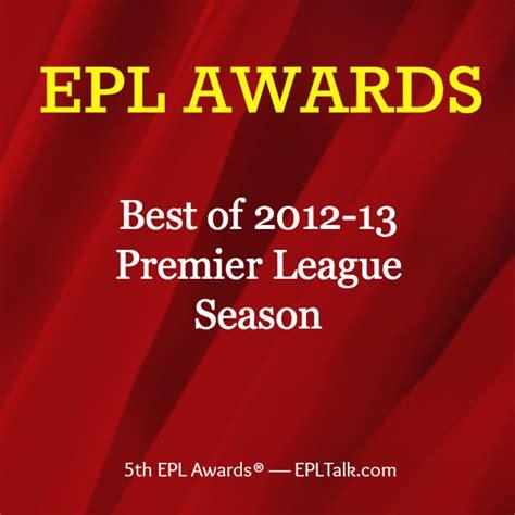 Epl Awards | 2012 13 epl awards winners revealed the best of the