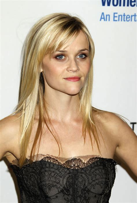 reese witherspoon long straight cut with bangs reese