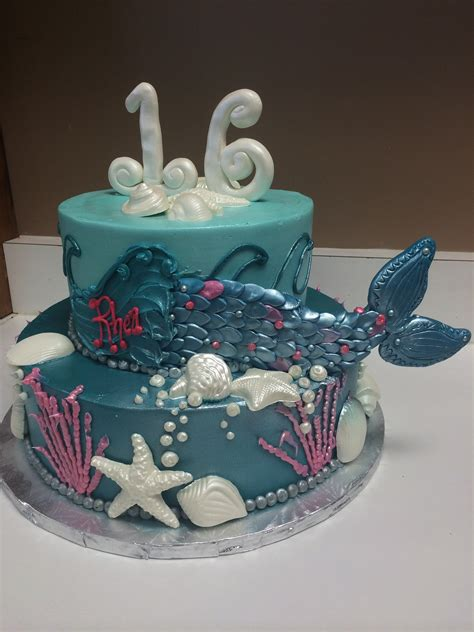 Mermaid Decorations For Home cupcake towers and specialty tiered cakes gallery the