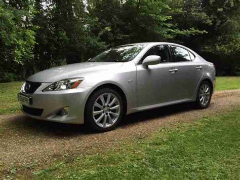 lexus car 2008 lexus 2008 is 250 se auto silver car for sale