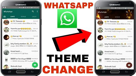 whatsapp themes change how to change whatsapp theme colour and look no root