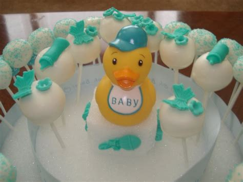 Baby Boy Baby Shower Cake Pops by Jessicakes Project Baby Boy Baby Shower 3 Tier Cake