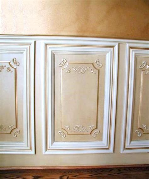 Decorative Wainscoting portfolio of ceiling panel and wall panel installations