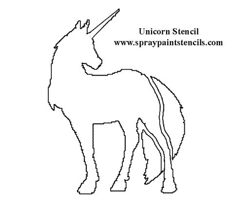 free printable unicorn stencils 1000 images about printable stencils on pinterest free