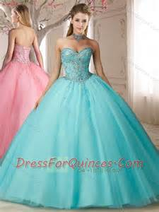 Big puffy beaded bodice and applique sweet 15th birthday dresses