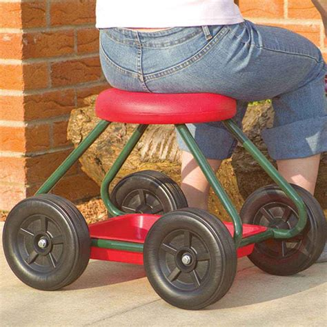 Gardening Stool With Wheels by Garden Stool On Wheels Nrs Healthcare