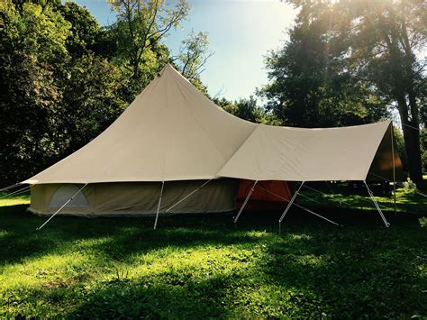 canvas tent awning large canvas awning 285gsm karma canvas