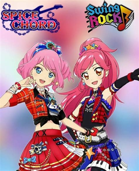 swing rock spice chord from aikatsu swing rock from aikatsu
