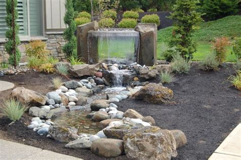 Great Front Yard Features To Boost Your Curb Appeal Rock Features In Gardens