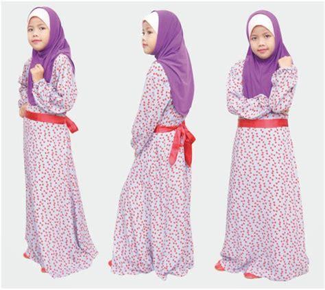 desain gamis anak 21 model baju muslim anak perempuan terbaru 2017 2018