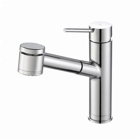 kraus pull out kitchen faucet kraus oletto single handle pull out sprayer kitchen faucet