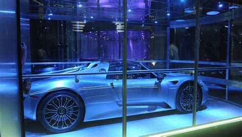 porsche design tower car elevator what it s really like to ride the s most advanced