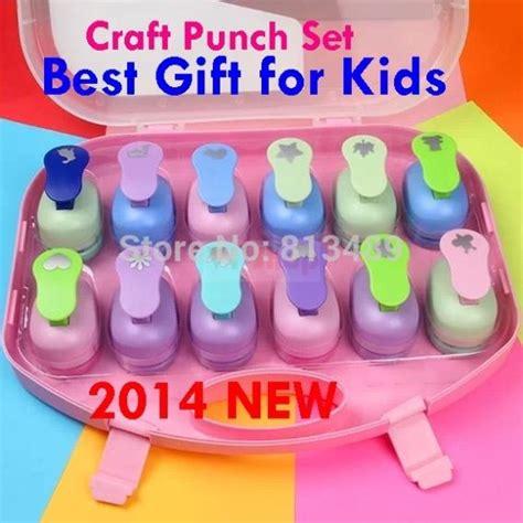 Craft Paper Punch Set - 12pcs craft paper punch set best gifts shaper cutter