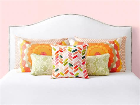 decorative pillows for bedroom 6 bedroom pillow arranging tricks to try hgtv