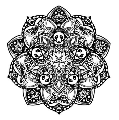 panda mandala tattoo panda mandala tattoodo com mandala pinterest panda