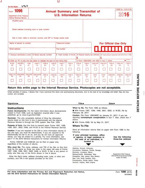 sle form sle 1096 form filled out form 1096 transmittal of forms