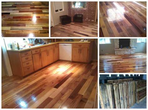 Repurposed Pallet Wood Floor ? 1001 Pallets
