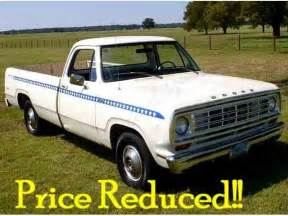 1975 Dodge D100 Parts Classifieds For Classic Dodge D100 10 Available