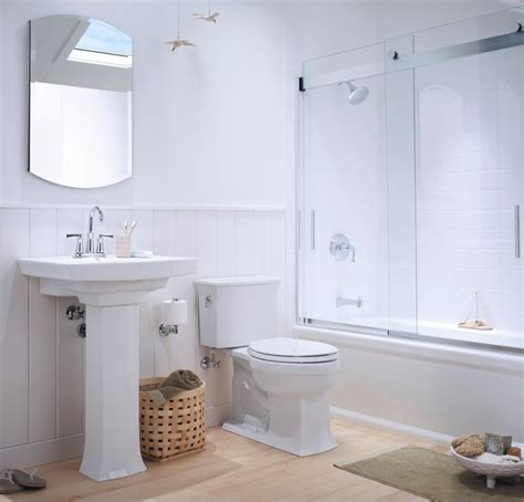 Kohler Bathrooms Designs by Small Coastal Bathroom Traditional Bathroom Other