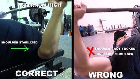 bench press elbows 3 bench press errors and how to fix them