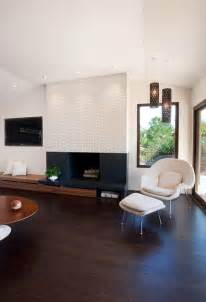 Living Room With Modern Fireplace And Tv 21 Modern Fireplaces Characteristics And Interior D 233 Cor Ideas