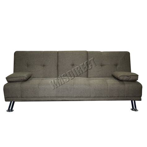 Westwood Fabric Manhattan Sofa Bed Recliner 3 Seater Recliner Sofa Beds