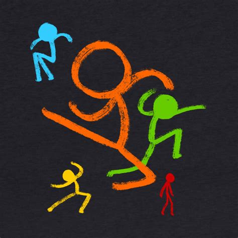 layout animation vs animated five stick figures alan becker kids hoodie teepublic