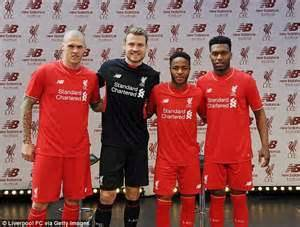 new year parade liverpool 2015 liverpool unveiled their new 2015 16 kit but which of