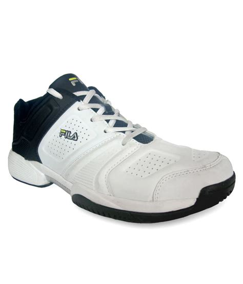 fila white leather running shoes price in india buy fila