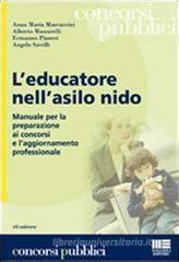 test educatore asilo nido l educatore nell asilo nido maggioli editore libro