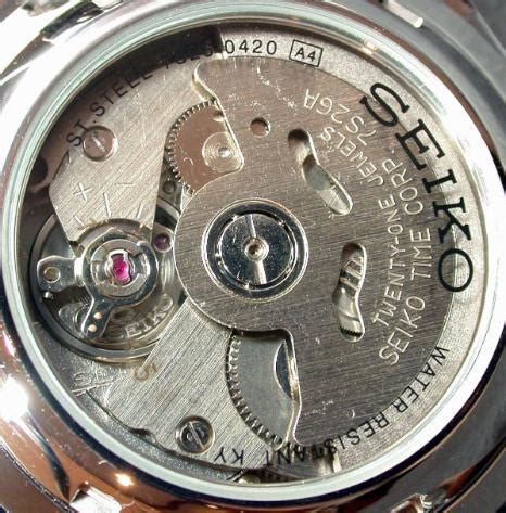 Seiko Automatic 7s26 file seiko 7s26 movement jpg wikimedia commons