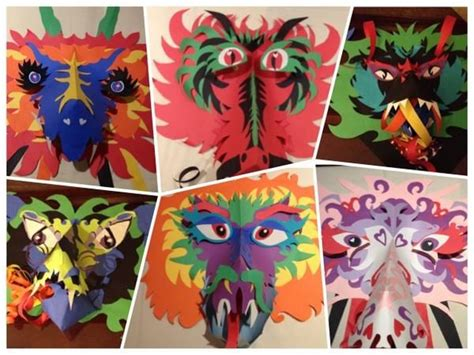 new year mask lesson 1000 images about lesson inspiration on